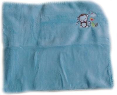 Kandy Floss Animal Single Blanket Blue