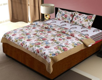 Lal Haveli Floral Double Quilts & Comforters Multicolor