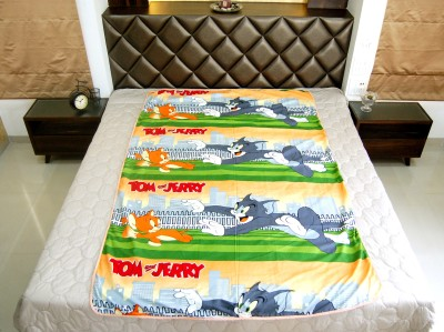 Quiltkaart Cartoon Single Dohar Multicolor