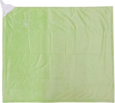Piccolo Bambino Plain Single Blanket Green