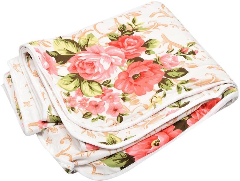 svt Floral Single Dohar Multicolor(AC Quilt, 1 dohar)