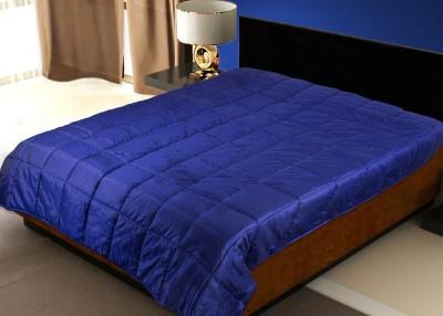 Zikrak Exim Plain Single Dohar Blue