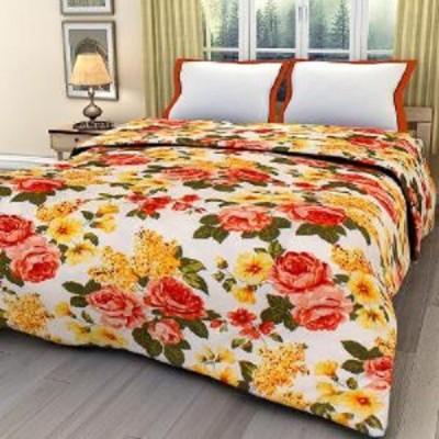 Armaans Floral Double Dohar Multicolour