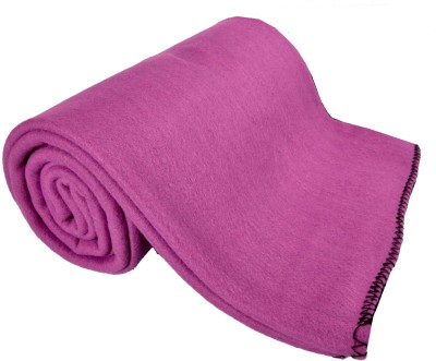 Kema Plain Single Blanket Purple