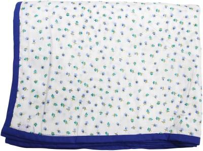 CocoBee Floral Queen Dohar Blue
