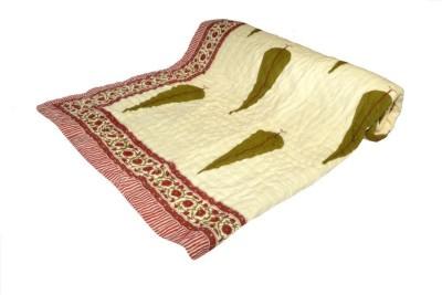 Shopper Space Floral Double Quilts & Comforters Multicolor