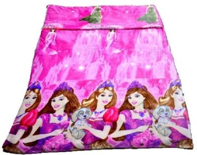 Portia Cartoon Single Blanket Pink