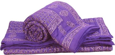 Little India Paisley Double Quilts & Comforters Blue
