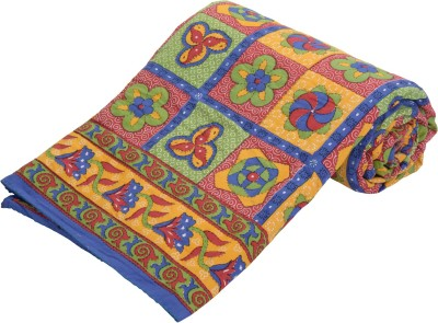 Factorywala Printed Double Quilts & Comforters Multicolor