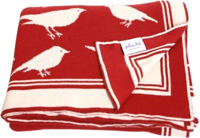 Pluchi Animal Single Blanket Red