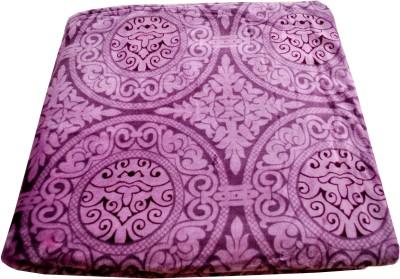 Shamrock Floral Double Blanket Purple