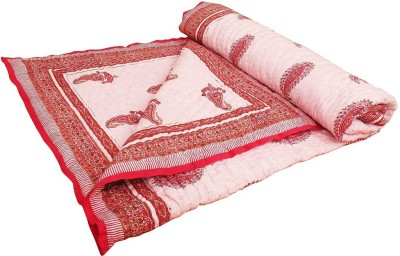 Pioneerpragati Floral Double Quilts & Comforters Multi colour