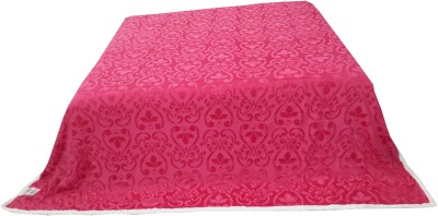 Welhouse Floral Double Blanket Pink