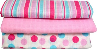 First Smiles Polka Single Blanket Blue