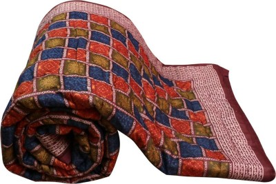 Sellstra Checkered Double Quilts & Comforters Multicolor