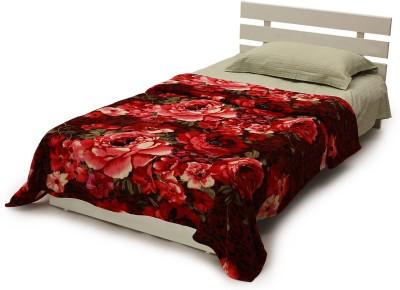 Histeria Floral Single Blanket Multicolor