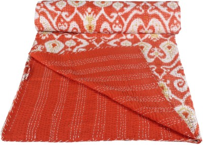 Rajcrafts Embroidered Double Quilts & Comforters Red, White