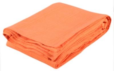 Saral Home Geometric Double Blanket Orange
