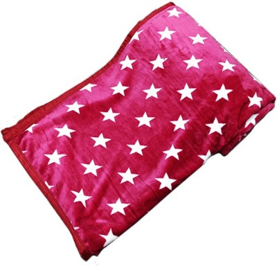 PROFTO Printed Double Blanket Pink