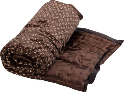 Sellstra Floral Single Quilts & Comforters Golden,Brown