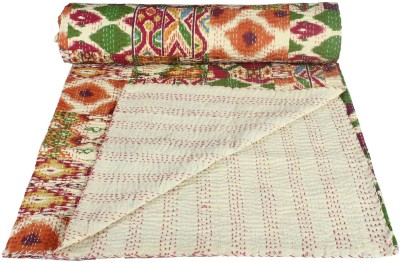 Rajcrafts Polka Double Quilts & Comforters Multicolor