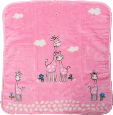 TAG Products Cartoon Crib Blanket Pink