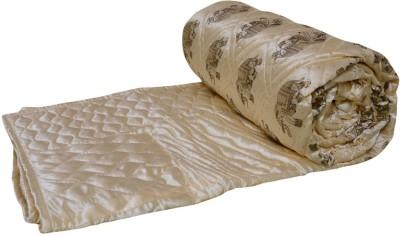 Rangasthali Animal Double Quilts & Comforters Yellow