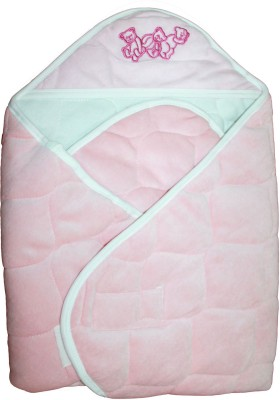 Quick Dry Checkered Single Blanket Pink