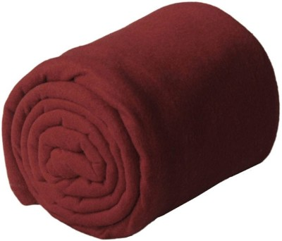 Peponi Plain Double Blanket Brown
