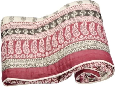 Ruchiworld Paisley Single Quilts & Comforters Multicolor