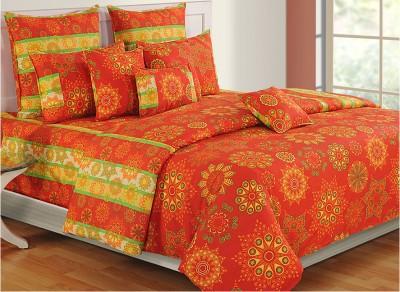 Swayam Cotton Printed Single Bedsheet