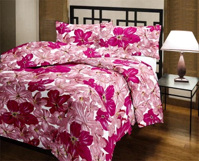 Factorywala Floral Double Dohar Pink