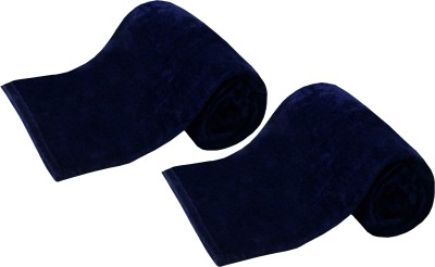 Azaani Plain Single Blanket Navy