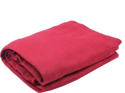 PHF India Plain Single Blanket Marron
