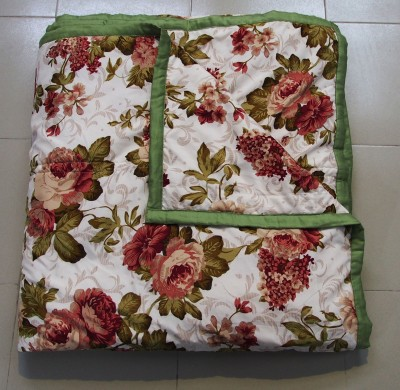 Decor Muse Printed King Quilts & Comforters Green