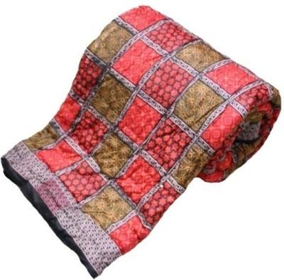 UFC Mart Geometric Double Quilts & Comforters Multicolor