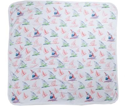 Kandy Floss Cartoon Single Blanket White