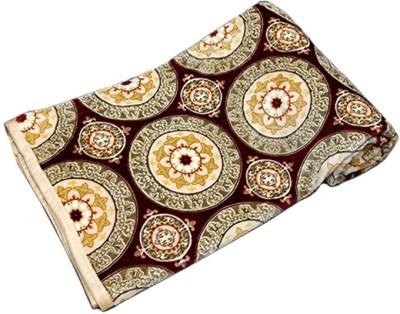 PROFTO Printed Double Blanket Beige