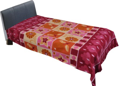 Home Fashion Gallery Floral Single Blanket Multicolor