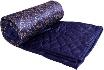 Rangasthali Floral Double Quilts & Comforters Blue