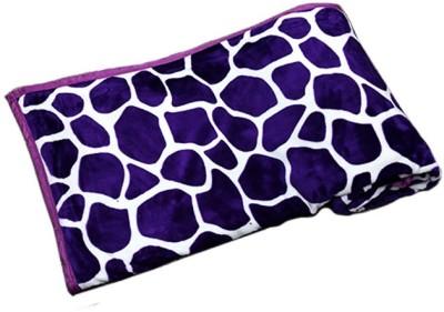 PROFTO Printed Double Blanket Purple