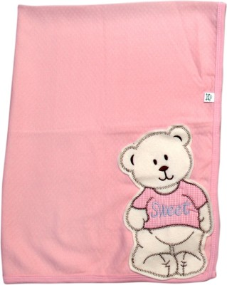 Offspring Plain Single Blanket Pink
