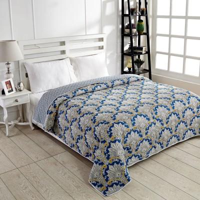 Ratan Jaipur Floral King Dohar Blue