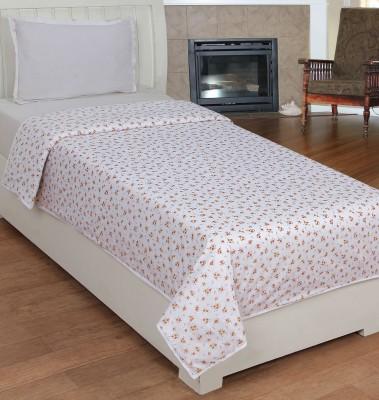 Trendz Home Furnishing Printed Single Dohar White