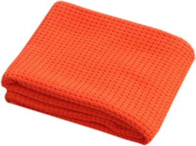 Saral Home Geometric Double Throw Orange