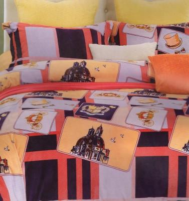 Valtellina Abstract Double Blanket Orange