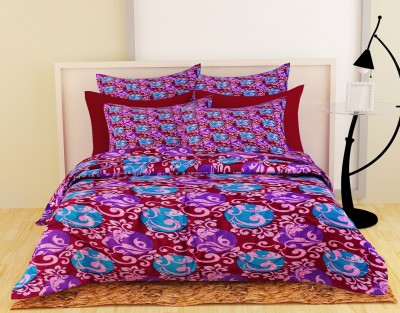 Story @ Home Floral Single Quilts & Comforters Maroon