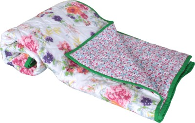 My Little Lambs Floral Crib Quilts & Comforters White