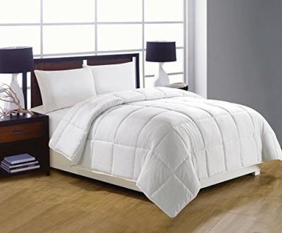 Artistic Linen Plain Blanket White