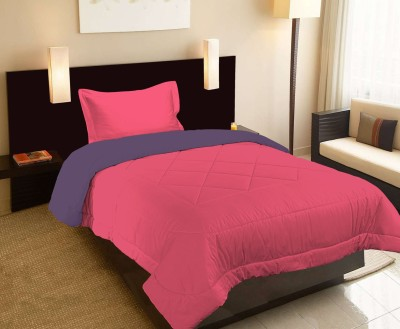 Raymond Home Abstract Single Quilts & Comforters Pink